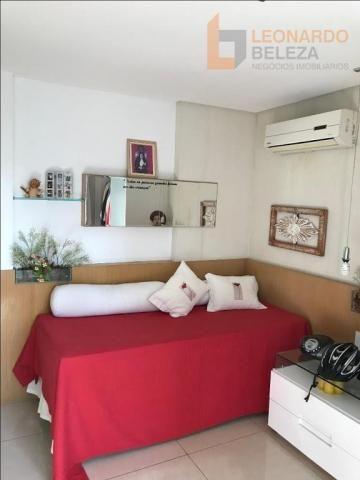 Apartamento com 4 suítes, beira mar, fortaleza, ceará - Foto 14