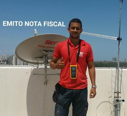Técnico sky tv, Oi tv, claro tv e antena externa de canais abertos
