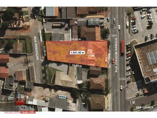 1041,40 m², prox. portal, duas frentes, comercial ou residencial - zr-4 coeficiente 2,5 e