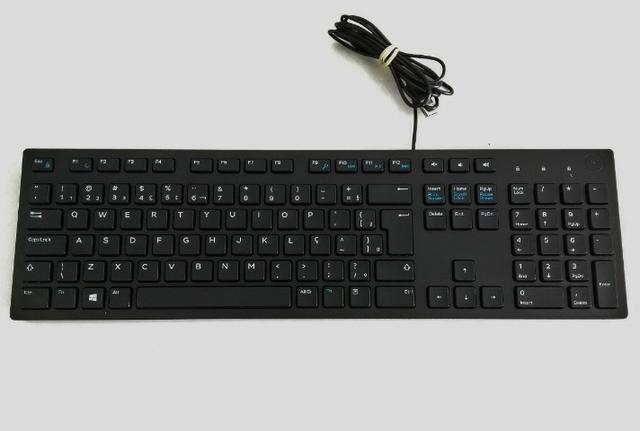 Teclado Dell KB-216 - USB - US - NOVO