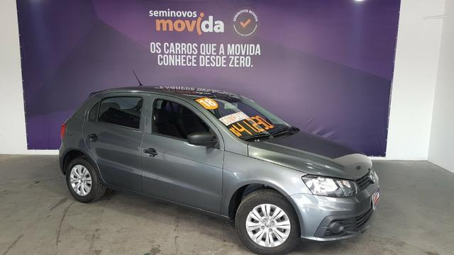 Vw - Volkswagen Gol 1.6 Cinza Metálico 2018 - Foto 2