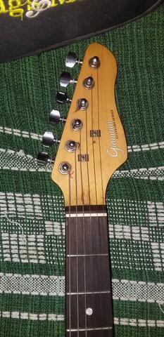Vendo guitarra Gianinni com capa, correia e cabo p10 de 5 M . mas informações pv !! - Foto 2
