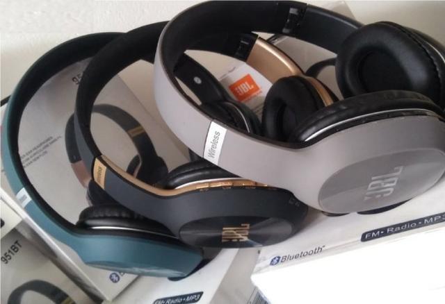 """Fone Bluetooth, FM, Cartão SD """"Maior Conforto"""" Atende ligação - Foto 6"""
