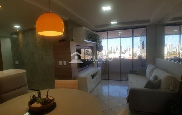 (ESN Tr51827)Apartamento Abarana a venda 64m 2 quartos e 1 vaga Papicu - Foto 3