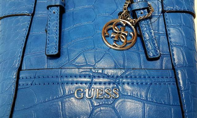 Bolsa Guess azul - Foto 3
