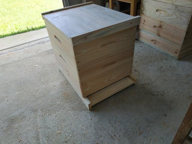 Caixa para abelha padrão Langstroth
