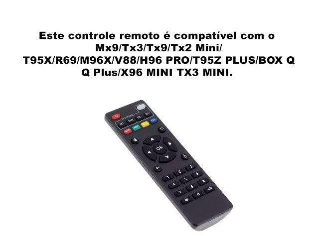 Controle Remoto Tv Box Original Mx9 Tx3 Tx9 Tx2 Mini - LE-7490 - Foto 2