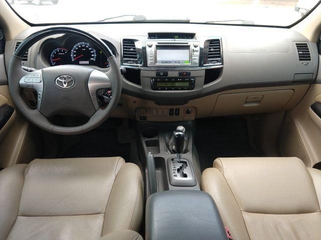Hilux SW4 Srv Aut Diesel 7L 2012/2012 - Foto 10