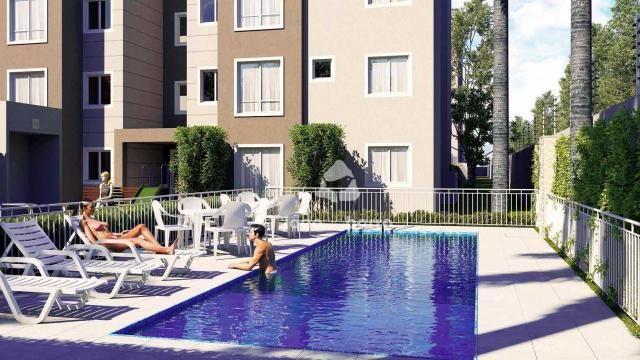 Apartamento com 2 dormitórios à venda, 46 m² por R$ 159.990 - Tijuca - Campo Grande/MS - Foto 9