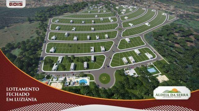 LOTEAMENTO FECHADO ALDEIA DA SERRA - Loteamento - 300 a 670m² - Luziânia - GO - Foto 5