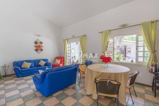 A Casa Azul! Térrea com 3 dormitórios e terreno de 1310m2 à venda no Condomínio Marambaia- - Foto 14