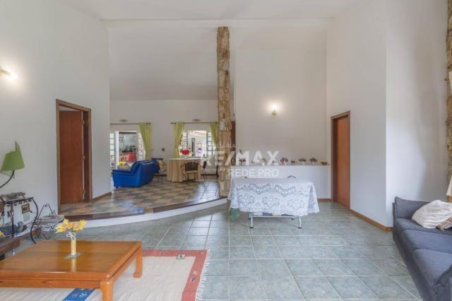 A Casa Azul! Térrea com 3 dormitórios e terreno de 1310m2 à venda no Condomínio Marambaia- - Foto 12