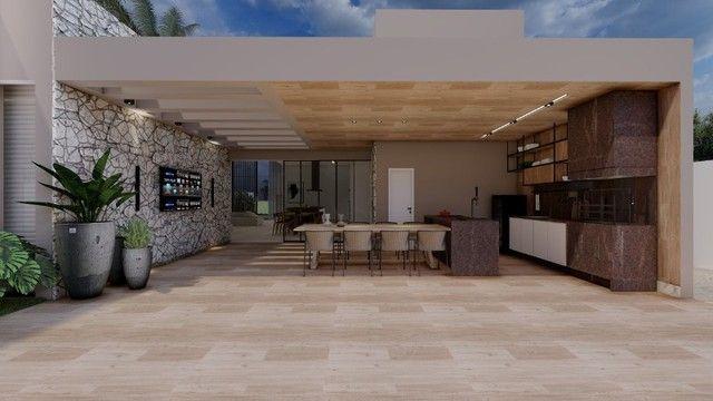 Casa de condomínio Linear 338M² Lote 1.000M² 4 suítes e tudo Mais. Alphaville Lagoa Ingles - Foto 6