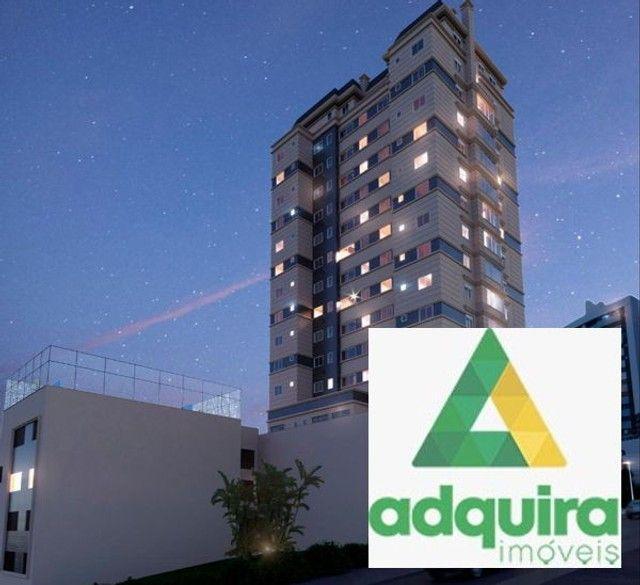Apartamento com 3 quartos no Edífico Monterrey Palace - Bairro Centro em Ponta Grossa