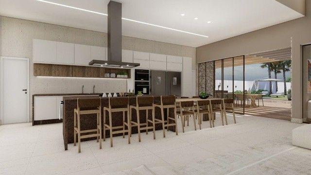 Casa de condomínio Linear 338M² Lote 1.000M² 4 suítes e tudo Mais. Alphaville Lagoa Ingles - Foto 5