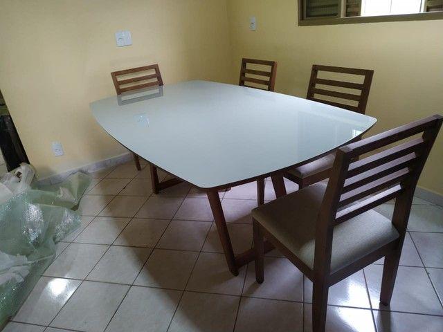 Mesa de madeira toda pronta entrega  - Foto 5