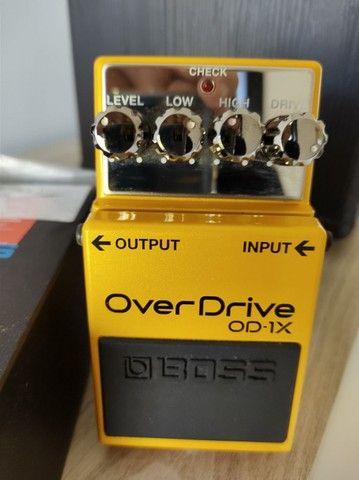 Pedal Boss overdrive OD-1X