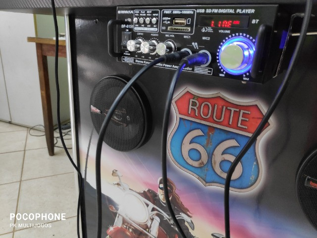 Fliperama Arcade 32polegadas com Karaoke novo tema Harley - Foto 6