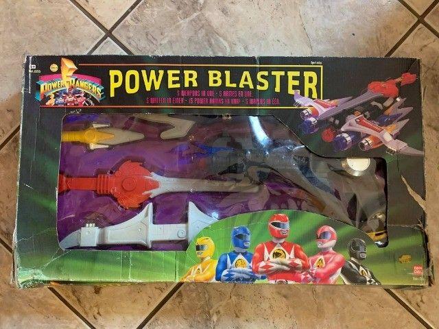 Power Blaster Mighty Morphin Power Rangers Original Bandai - Foto 3