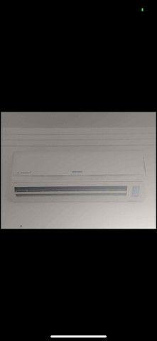 Ar condicionado samsung praticamente novo funcionando perfeitamente  - Foto 2