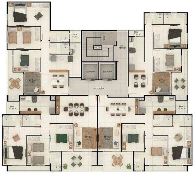 João Pessoa - Apartamento Padrão - Jardim Oceania - Foto 9
