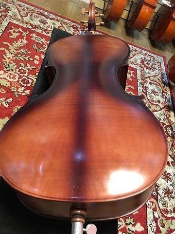 Violoncelo 4/4 Nhureson premium madeira nobre exposta Araucaria Serie limitada - Foto 6