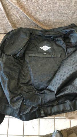 Jaqueta Motociclista com Proteção ajustes Importada - Foto 4