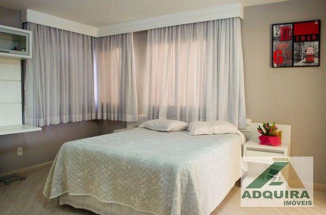 Apartamento com 3 quartos no Edifício Vitória Regia - Bairro Centro em Ponta Grossa - Foto 16