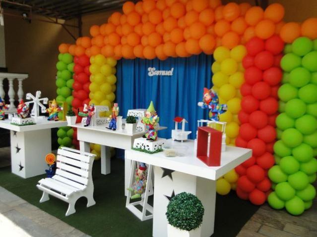 decoracao festa goiania : decoracao festa goiania:Decoração Provençal Tema Circo Palhaços Maximus Festas e Eventos