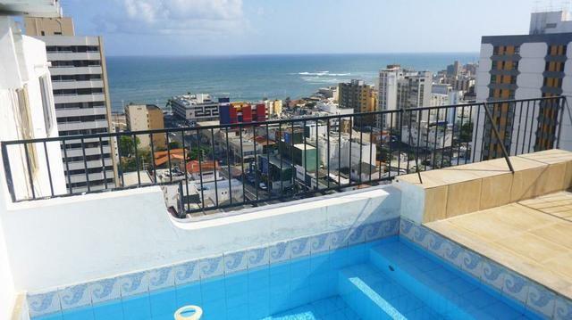 Cobertura 4 quartos, vista mar, Pituba, Salvador, Bahia