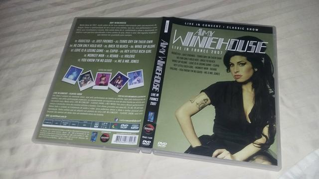 DVD Amy Winehouse Live In France