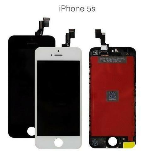 Tela iphone 5s preta R$ 45.00