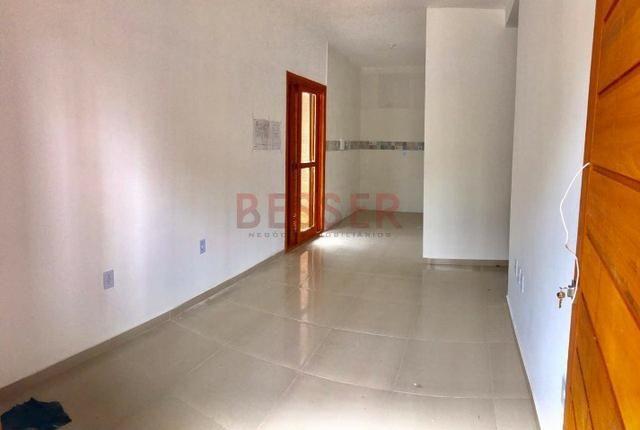 Casa nova com 2 dormitórios e ótimo pátio para lazer! - Foto 8