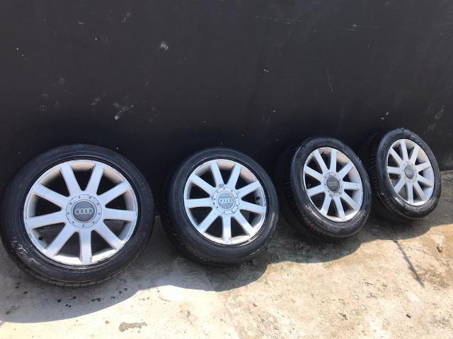 Jogo de rodas Aro 17 Audi RS4 Até 10x s/ juros