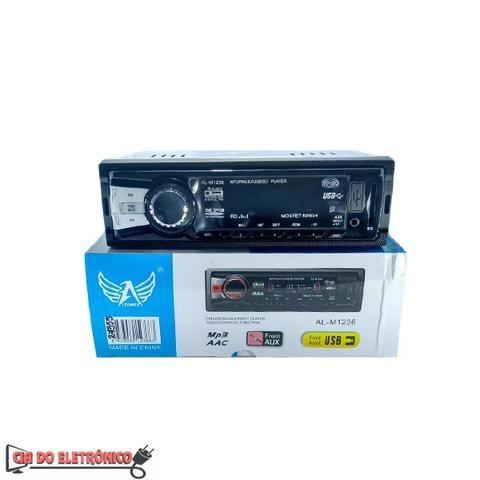 Radio Automotivo Usb / Cartao Sd / FM / MP3 (AL-M1236)