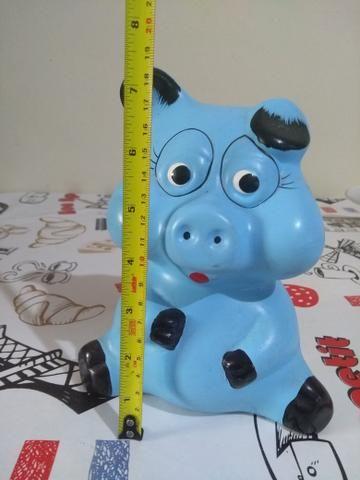Cofre Porquinho Azul