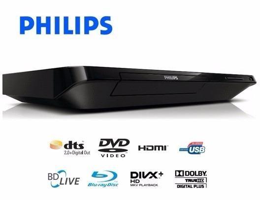 Blu-ray Player Philip com Entrada USB e Saída HDMI