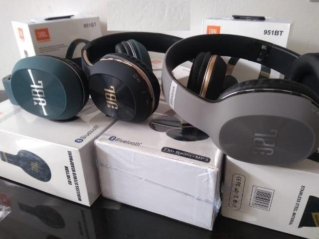 """Fone Bluetooth, FM, Cartão SD """"Maior Conforto"""" Atende ligação - Foto 5"""