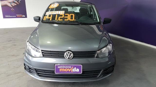 Vw - Volkswagen Gol 1.6 Cinza Metálico 2018