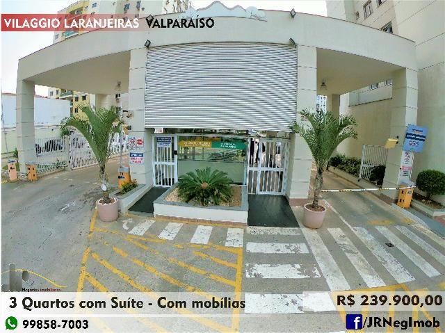 Apto 3 Quartos c/ Suíte - Villagio Laranjeiras