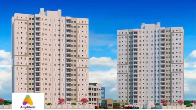Residencial Amplitude Aptos 38,80 a 48,36m3 1 e 2 Dorms,Sala,Cozinha,Banheiro,com opção de - Foto 3