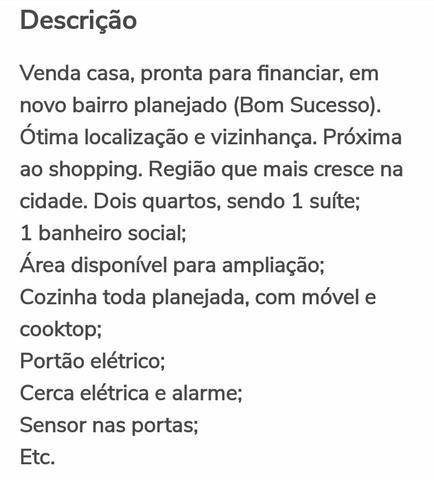 Casa padrão no bom sucesso / boleto - Foto 2