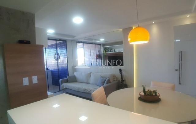 (ESN Tr51827)Apartamento Abarana a venda 64m 2 quartos e 1 vaga Papicu - Foto 5