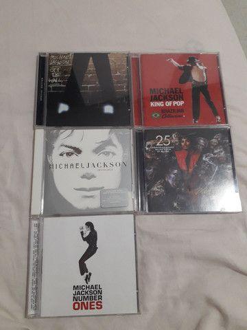CDs Originais Michael Jackson Nunca usados