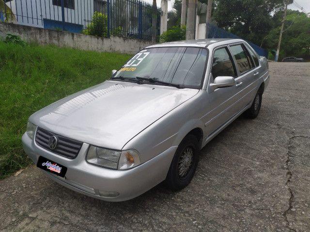 Carro santana 2003 completo financiamos sem entrada (valor real) - Foto 4