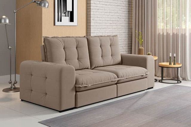 Sofa retratil e reclinavel fofissimo KAL717 - Foto 3