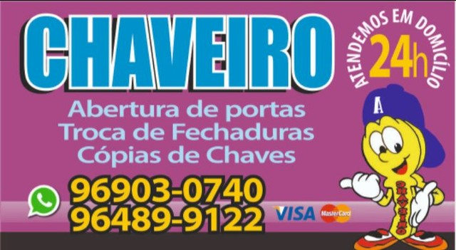 Chaveiro 24 horas - Itaguaí