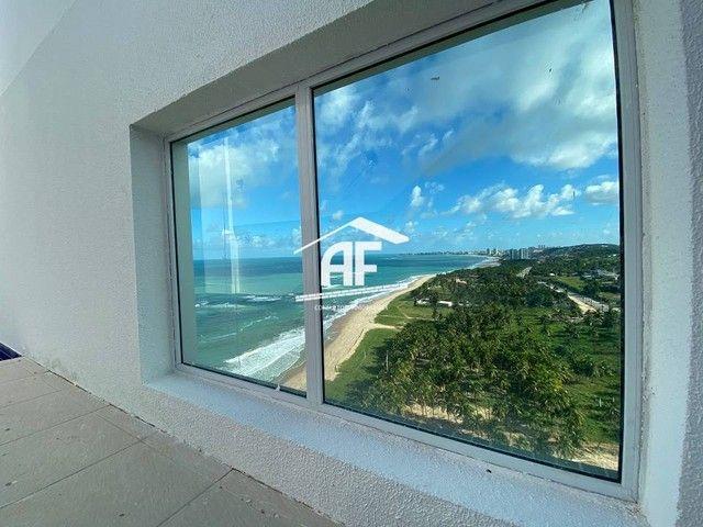 Cobertura nova com Vista total e ampla na beira mar da praia de guaxuma - Foto 13
