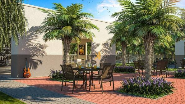 Apartamento com 2 dormitórios sendo 1 suíte reversível à venda, 42 m² por R$ 143.635 - Tam - Foto 3