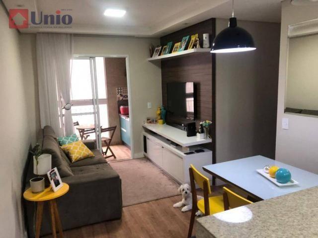 Apartamento com 3 dormitórios à venda, 68 m² por R$ 390.000 - Alto - Piracicaba/SP
